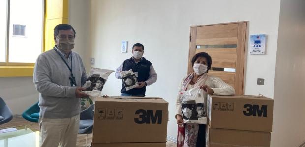 Provincia de Osorno recibe importante donación de mascarillas para equipos de Salud