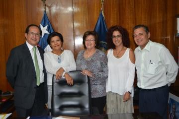 Colegio Médico Osorno se reune con nuevo Gobernador Provincial